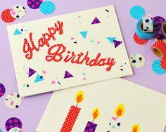Omiyage Blogs: It's Birthday (Card) Time!
