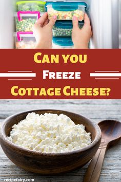 We've outlined answers to the popular question people are asking - can you freeze cottage cheese? Dry Cottage Cheese, Cottage Cheese Pancakes, Freezer Cooking, Freezer Meals, No Cook Meals, Survival Supplies, Survival Food, Survival Tips, Food Prep Storage