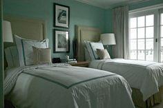Newport - Beach Style - Bedroom - New York - Libby Langdon Interiors, Inc.