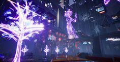 Cyberpunk city, 4 0