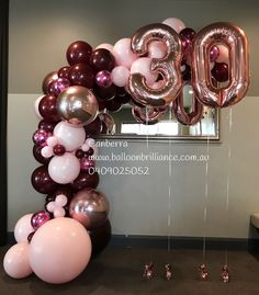 Most recent Snap Shots Birthday Balloons ideas Strategies Birthdays are generall. Most recent Snap Shots Birthday Balloons ideas Strategies Birthdays are generally massive parties d 30th Birthday Balloons, 30th Birthday Decorations, Balloon Decorations, 30th Balloons, 50th Birthday Themes, 21st Decorations, Balloon Ideas, 30th Party, 30th Birthday Parties