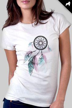 Dreamcatcher (babylook) http://loja.kizumba.com.br/pagina/4b9d/camisetas