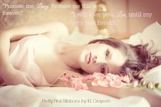 Title: Pretty Pink Ribbons Author: K.L. Grayson Genre: Contemporary Romance Release Date: March 24, 2015 Cover Design: Perfect Pear Creative Covers Photographer: Tomasz Zienkiewicz Photography Dyin...