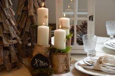 Adventskranz - Kerzenständer Adventskranz Advent Stammset - ein Designerstück von majalino bei DaWanda