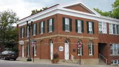 Liberty, Mo. Bank Jesse James Held Up in 1866. Now a museum. On Square in Liberty, Missouri The first & most successful bank robbery took place here on 2/13/1866 just 8 miles from the James home & several miles from a bend of MO River. Their next robbery took place on 10/30/1866 in Lexington, MO.