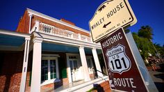 An easy drive from downtown San Diego, the Whaley House is located right off Historic Route 101.
