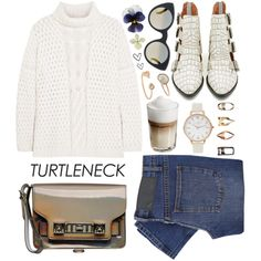 How To Wear Wardrobe Staples The Turtleneck Outfit Idea 2017 - Fashion Trends Ready To Wear For Plus Size, Curvy Women Over 20, 30, 40, 50