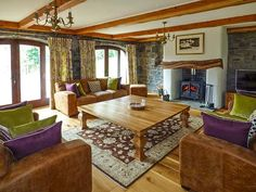 The Coach House, Narbeth, South Wales and Pembrokeshire, Wales, Sleeps 6, Bedrooms 3, Self-Catering Holiday Cottage with Woodburner.