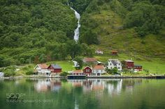 The UNESCO Naeroyfjord and Aurlandsfjord by ConchiGReyes #Travel #fadighanemmd