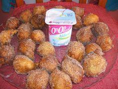 Buñuelos de yogurt