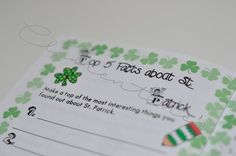 How to teach everything about St. Patrick (It's Clementine's) St Patrick, Worksheets, Everything, Clip Art, Place Card Holders, Teaching, Activities, Store, Paper