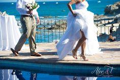Cabo Wedding Venue- by Alec & T Sexy Wedding Shoes, Cabo, Wedding Venues, Statue, Bride, Photography, Cable, Wedding Reception Venues, Fotografie