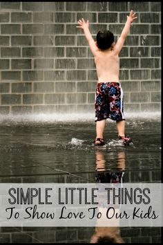 The simple little things we do for our kids are sometimes the things that mean the most. I love these fun ideas!