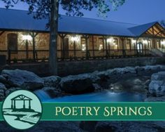 Poetry Springs Events Venues
