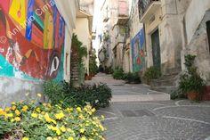 Calabria: Diamante, murales (Italy)