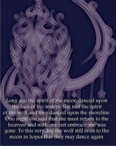 The spirit of the moon