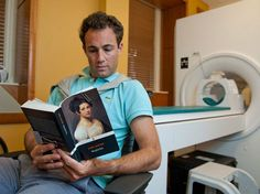 Matt Langione, a subject in the study, reads Jane Austen's Mansfield Park. Results from the study suggest that blood flow in the brain diffe...