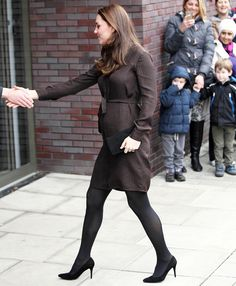 See new pictures from pregnant Kate Middleton's latest engagement at a foster care center in London