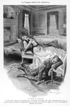 Archduke Rudolf, Crown Prince of Austria (1858-1889), kills himself and his mistress, Baroness Mary Vetsera, in his hunting lodge at Mayerling.
