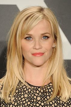 Hair layered long bangs reese witherspoon ideas for 2019 Lysandre Nadeau, Reese Witherspoon Hair, Reece Witherspoon Hairstyles, Medium Hair Styles, Short Hair Styles, Sweeping Bangs, Celebrity Hairstyles, Hairstyles 2016, Latest Hairstyles