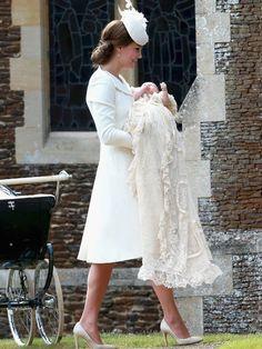 Prinzessin Charlotte: So schön war die royale Taufe in England