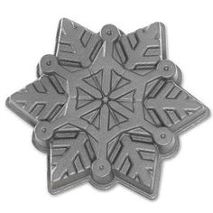 Nordic Ware Snowflake Pan - my Sister-in-law found one of these in a charity shop and grabbed it for me!