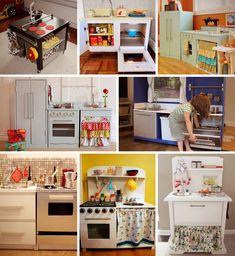 1000 images about diy cocinitas para jugar on pinterest - Como hacer un mueble de cocina ...