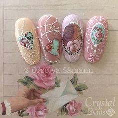 #royalgel #lacegel #crystalnails #icrystalnailsbeauty #