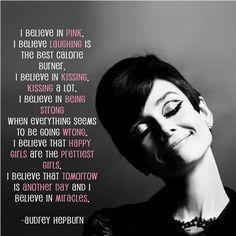 Audrey Hepburn, got to love her!