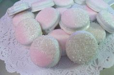 Glitz & Glam Gourmet White Chocolate Covered by lollieschocolates sprinkled blue  others gold