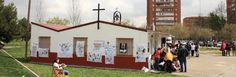 Parroquia Madre del Buen Pastor, en el barrio de San Fermín.