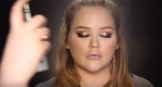 How to Use Setting Spray | Rihanna Work Makeup Tutorial, check it out at http://makeuptutorials.com/rihanna-work-makeup-tutorial