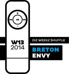 Breton - Envy 'diz weekz shuffle' © 2014 dizizsander. #music