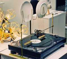 Pendulum Sound Machine by Kouichi Okamoto at Dwell on Design from Designboom 'Yakitate' exhibition
