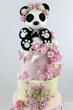 Panda Garden Cake #festasinfantis #festa #festadeaniversario #festadecrianca #festainfantil #aniversarioinfantil #aniversariodemenina #festapanda #bolopanda #panda #pandacake #gardencake #partyideas #kidsparty #birthdayparties #birthdayparty #kidsparty