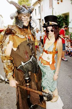 In midsummer the small Italian town Vinci and hometown of Leonardo da Vinci becomes the Mecca of cosplay, renaissance and fantasy fans. Impressions of the edition of the Unicorn Festival Part I. Dieselpunk, Fantasy World, Renaissance, Steampunk, Unicorn, Earth, Cosplay, Costumes, Places