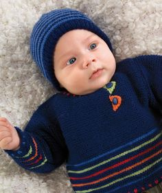 Free Pattern: Baby Sweater