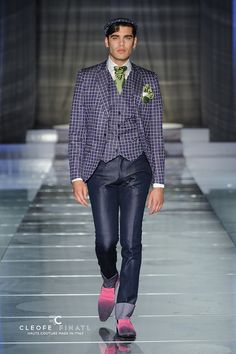 Cleofe Finati by Archetipo 2015 Fashion Show - 100% Made in Italy Men's Formal Wear