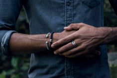 Buddha to Buddha jewelry  Bracelet and ring  Muau Schmuck