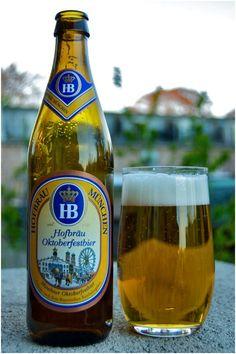 Hofbrau Oktoberfest, Märzen, German Beer, Bier, Lager