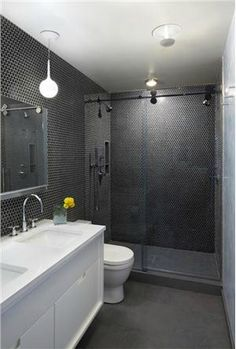 Contemporary (Modern, Retro) Bathroom by Axis Mundi