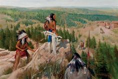 Scouting the Fort by Carl Hantman kp
