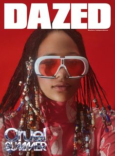 Selena Forrest fronts a disco-inspired fashion cover for the summer issue of Dazed. Photograpgy Roe Ethridge Styling Robbie Spencer