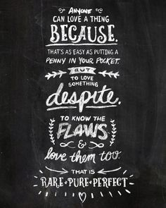 Hand-lettered quote from the works of Patrick Rothfuss. Follow the link to buy a print!