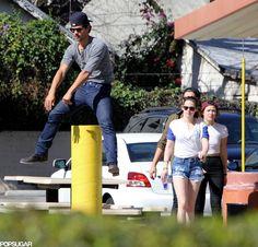 Celeb Diary: Kristen Stewart & Taylor Lautner in Los Angeles