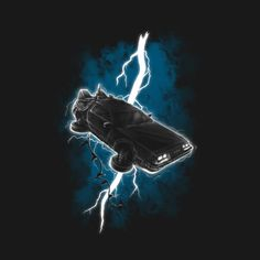 Flying DeLorean Struck By Lightning T Shirt. Awesome Back To The Future artwork on a T shirt. Glam Photoshoot, Cool Shirt Designs, Inspirational Artwork, Angels And Demons, Dope Art, Graphic Design Inspiration, Art Inspo, Illustration Art, Lover Clothing