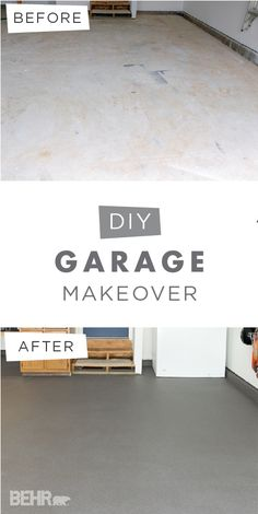 Spring cleaning has never looked so good! Check out this DIY garage makeover from Rachel, of Craving Some Creativity, for easy ways to bring organization to your home. Rachel painted her garage floor using BEHR Premium Granite Grip to create a non-slip, non-reflective coating. The result is a clean and durable coating that will keep Rachel's garage looking brand new for years to come.