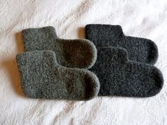 Felted Slippers, Chrochet, Loom, Beads, Sewing, Knitting, Diy, Crafts, Fashion