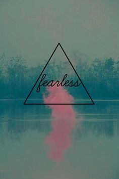 Create your alter ego. What do they tell you to do to be fearless?