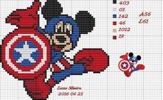 Mickey Mouse as Captain America